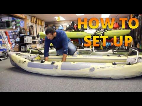 How To Set Up: Advanced Elements StraitEdge Angler Pro Inflatable Kayak