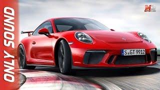 New porsche 911 gt 3 2017 - first test drive only sound