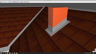 ArCADia Architektura - Obróbki blacharskie komina