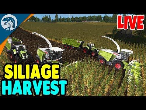 HUGE MULTIPLAYER FARM, $1,000,000 HARVEST EVENT | Farming Simulator 17 Gameplay