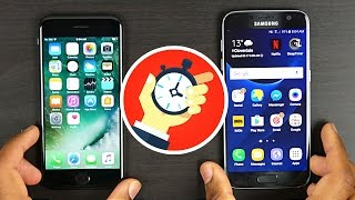 iPhone 7 vs Samsung Galaxy S7- Speed/Benchmarks Comparison
