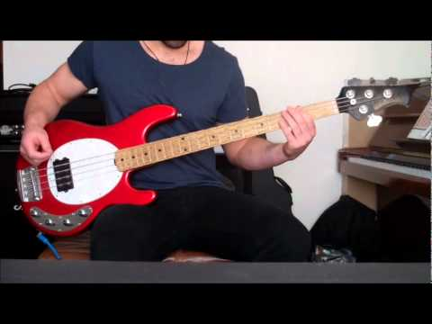 blur - song 2 bass cover