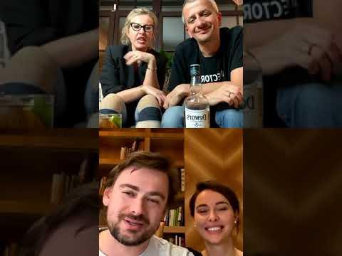 Ксения Собчак и Константин Богомолов в прямом эфире 24.04.2020.
