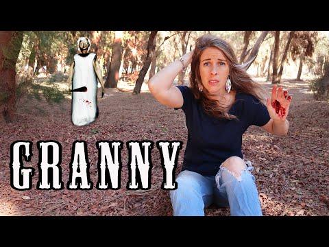 Бабка ГРЕННИ поймала меня в Лесу! GRANNY преследует в Реальной Жизни! Экстремальные прятки C ГРЕННИ!