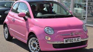 Fiat 500 Pink Droptop Special Edition Videos