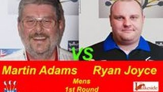 2017 BDO World Darts Championship Round 1  Adams vs Joyce