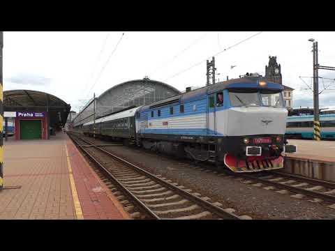 (HD) Class 749 'Grumpy' Action In The Czech Republic - August 2017.