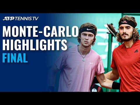 Stefanos Tsitsipas vs Andrey Rublev | Monte Carlo 2021 Final Highlights
