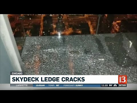 Chuck and Kelly - Chicago Skydeck Cracks