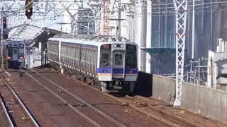 2018.5.24 南海電鉄 8000系 8006F + 8708F  準急 なんば 南海電車 南海車両一覧
