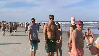 Spring Break Daytona Beach Fl Mighty Preach And Lil John Concert The Lagoon