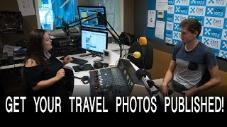 Make Money With Your Travel Photos - Live Radio Interview VLOG