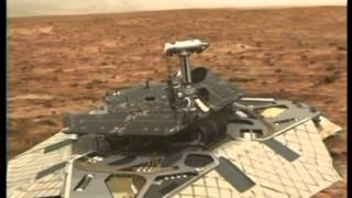 Mars Rover - NASA animation of mission to Mars