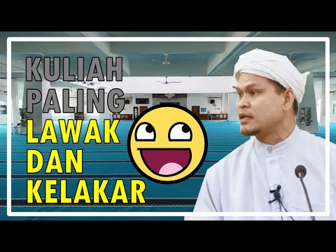 Kuliah Paling LAWAK Dan KELAKAR Ustaz Abdullah Khairi Special Bulan Mac 2018