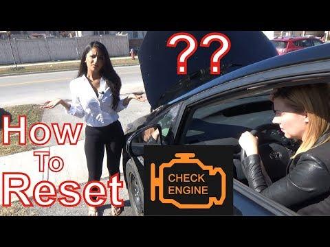 How to Reset Check Engine Light