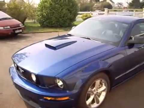 Ford Mustang Gt California Special 2007 Youtube