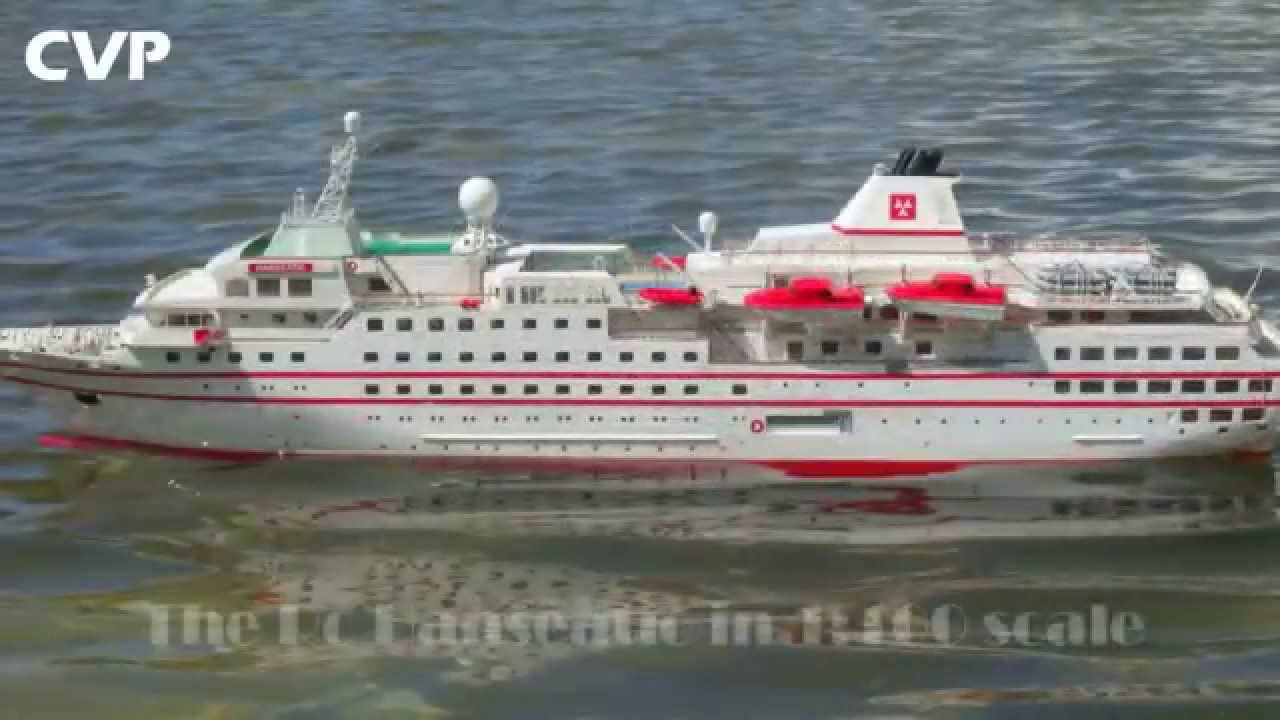 CVP Robbe Hanseatic Rc Cruise Ship By Vasilis YouTube - Remote control cruise ship