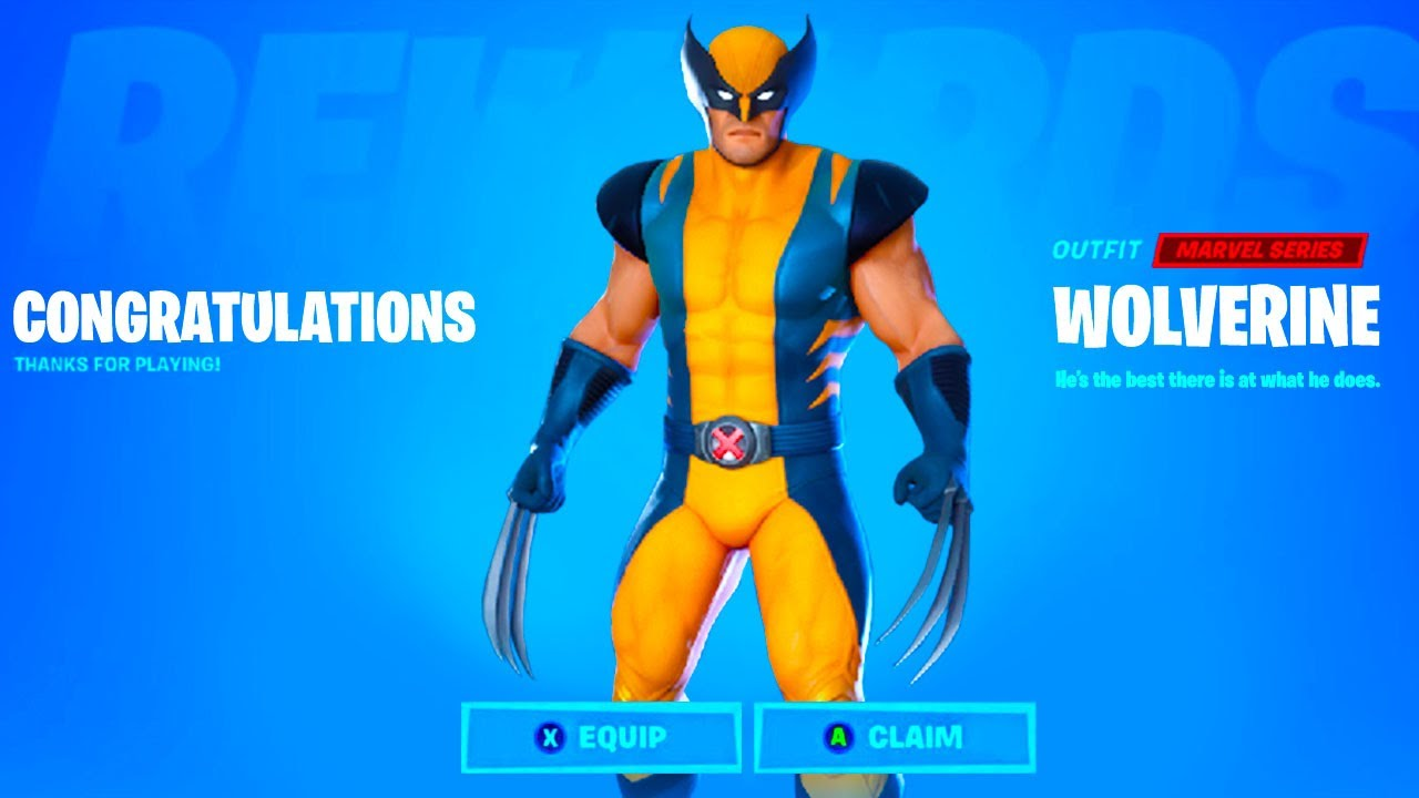 How To Get Wolverine Skin In Fortnite Season 4 Chapter 2 Wolverine Challenges Youtube