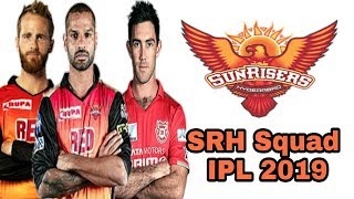 Sunrises Hyderabad Team Squad IPL 2019 | SRH Full team squad IPL 2019 | by HS Sports 13