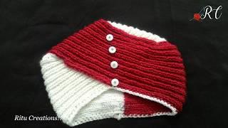 Easiest way of Turban Topi (टर्बन टोपी आसानी से कैसे बनाये ) | Knitting Hindi |