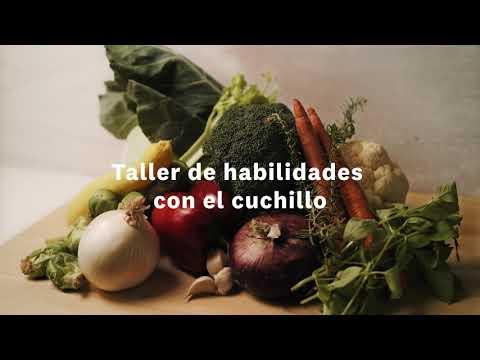 Thumbnail to launch Knife Skills Spanish video