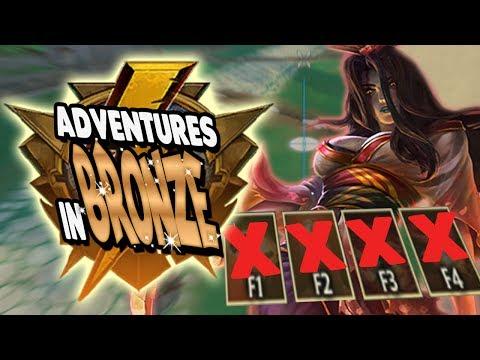 Smite: Adventures in Bronze Duel - Izanami Vs. Scylla - NO ABILITIES CHALLENGE!