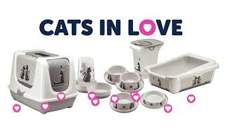 Товары для животных Moderna Бельгия влюбленные кошки