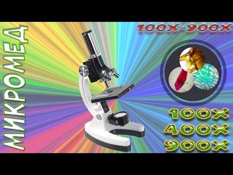 Как настроить микроскоп детский
