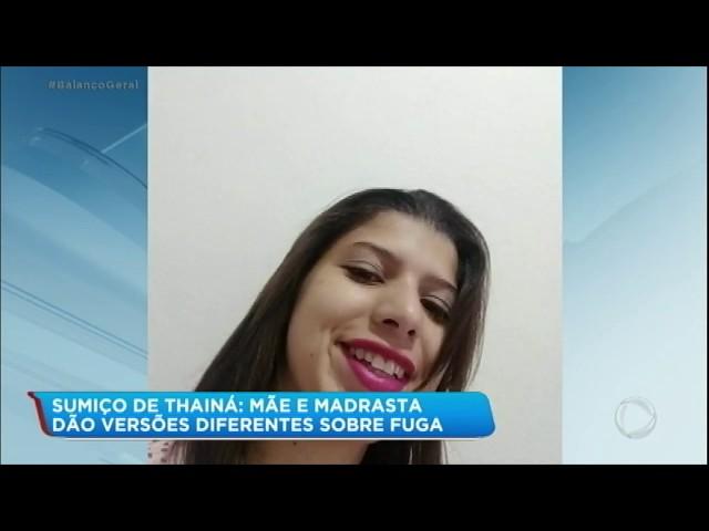 Madrasta presta depoimento sobre jovem desaparecida há 4 dias