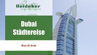 Dubai-Städtereise - Burj Al Arab Hotel - Afternoon Tea mit Heideker Reisen-www.heideker.de