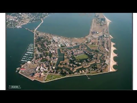 The Construction Of Historic Fort Monroe