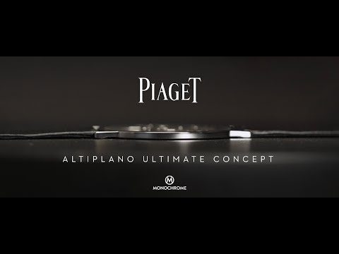 Piaget Altiplano Ultimate Concept - The World's Thinnest Mechanical Watch
