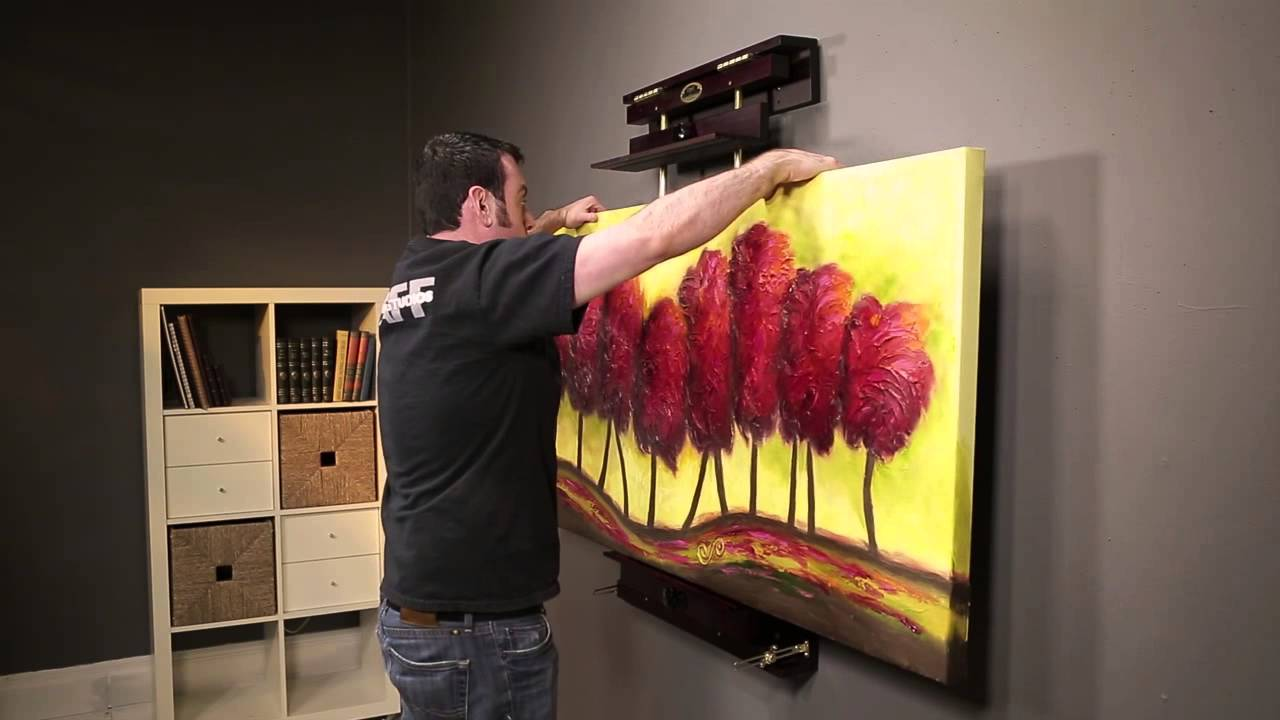 Rue Wall Easel Product Demonstration Youtube