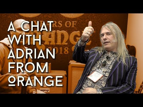 A Chat With Adrian Designerdude Man From Orange At NAMM 2018