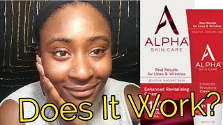 Alpha Skin Care Enhanced Removal Cream Review |12% Glycolic AHA | Remove Dead Skin Cells At Home