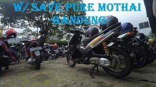 SUNMORI  Rame - Rame Bareng Save Pure Mothai BANDUNG (LEMBANG) #PART 2