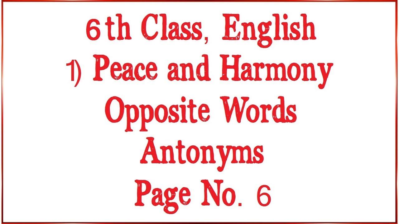medium resolution of 6th Class