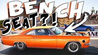 Sleeper Impala runs 9's on a BENCH SEAT! + More craziness!