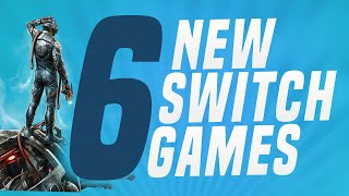 6 New Switch Games Just Announced Coming To Nintendo Eshop!  Switch Update Releases