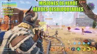 Hero Missions - Unlockable Heroes Fortnite Save the World