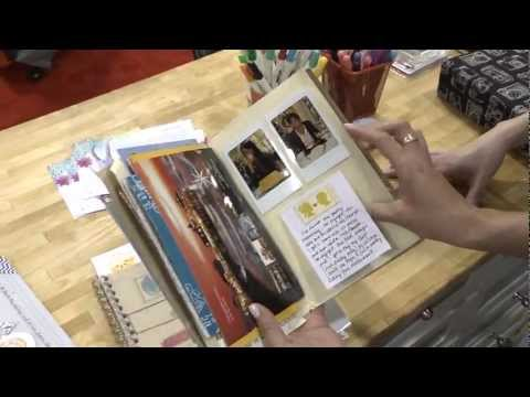 CHA 2012 - Amy Tangerine Sketchbook Line With A Look At Amy's Own Scrapbook!