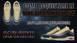 air max 97 dove trovarle