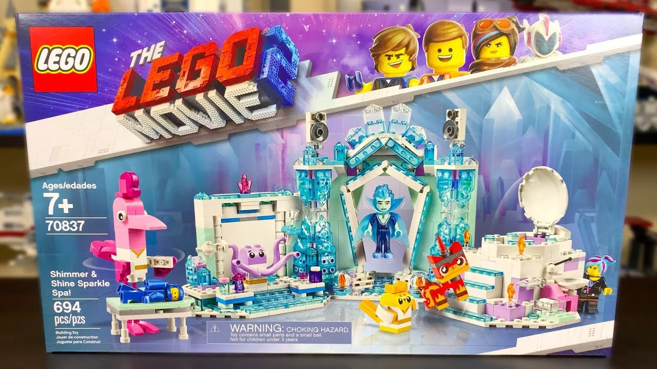 Lego Movie 2 70837 Shimmer And Shine Sparkle Spa Review Summer 2019