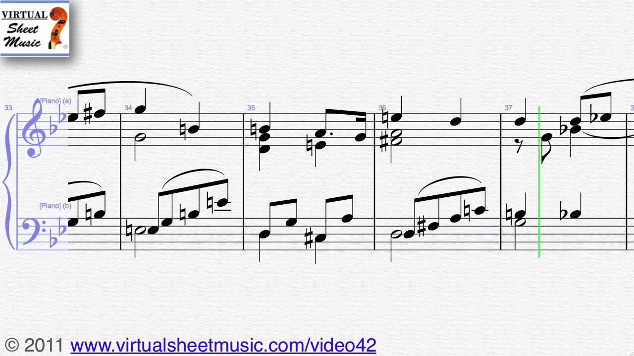 Richard Wagners Wedding March Piano Sheet Music