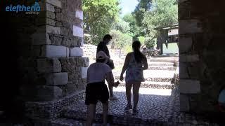 Εργασίες αναβάθμισης στην είσοδο του Κάστρου Καλαμάτας
