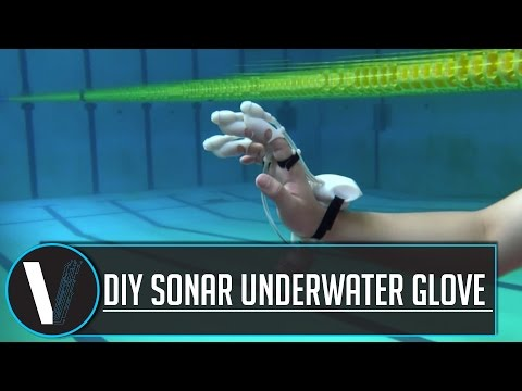 DIY sonar glove can 'feel' distant objects underwater review