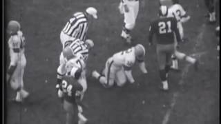1964 Redskins at Browns Game 9 Film Clips