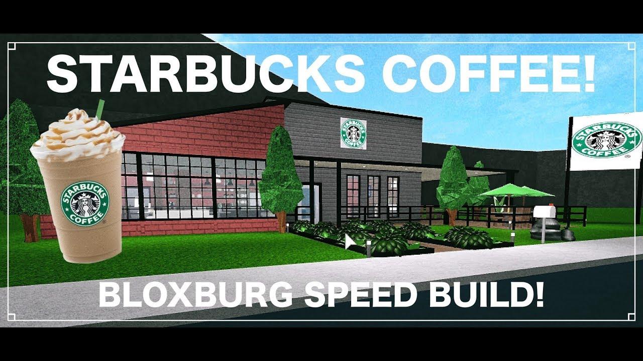 Starbucks Coffee Cafe! [SPEED BUILD] - YouTube