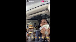 JANIA MESHELL ON IG LIVE WITH NEW BOO YBN ALMIGHTY JAY!! SAYS THEY SPEND MONEY TOGETHER👀👀👀