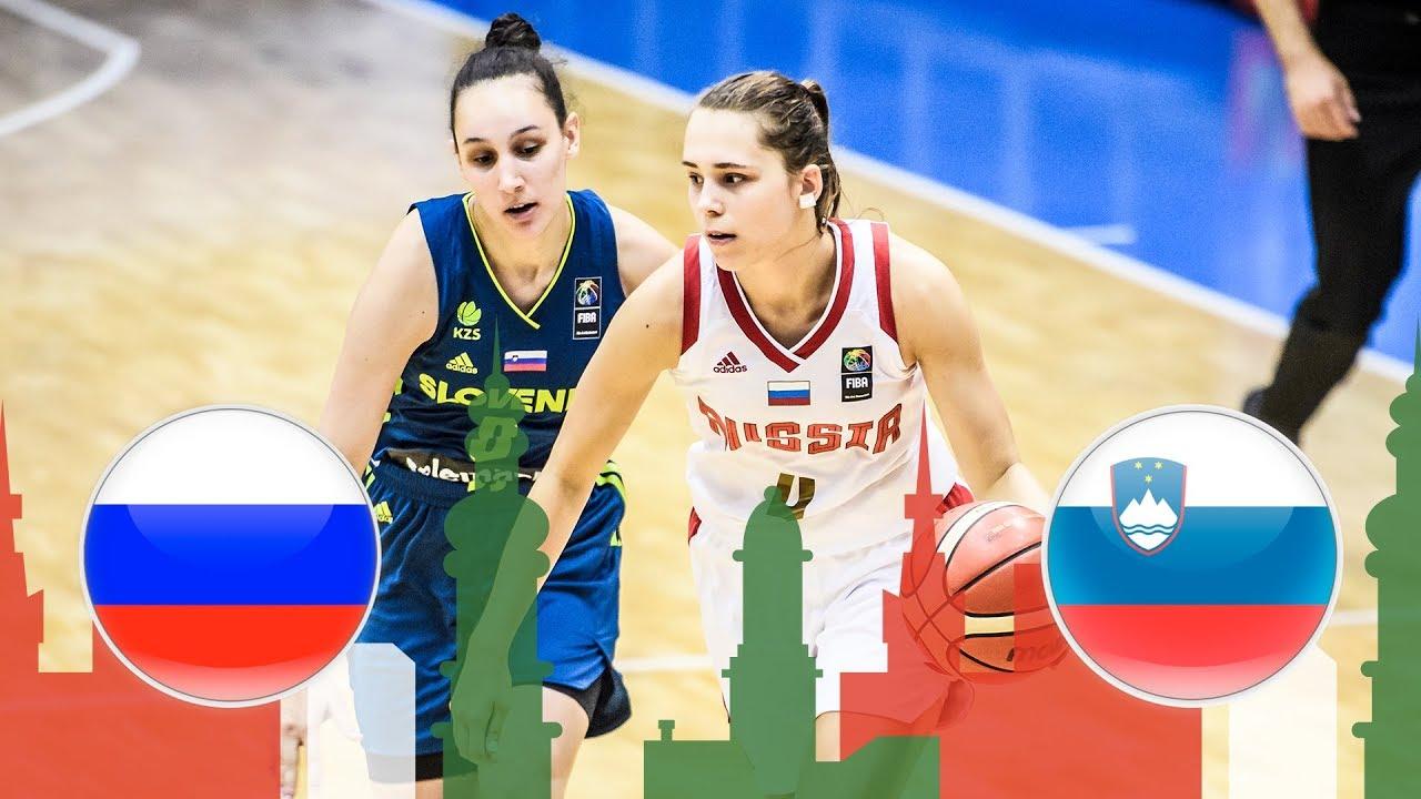 Russia v Slovenia - Full Game - Class Game 13-14